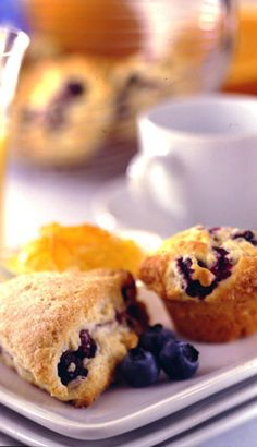 Learn how to make blueberry mini muffins and other blueberry recipes from the Blueberry Council. Kick your breakfast into high gear with these blueberry mini muffins Mini Muffins, Mini Blueberry Muffins, Mini Scones, Blueberry Picking, Blueberry Recipes, Blue Berry Muffins, Lemon Muffins, Blueberry Breakfast, Breakfast Cake