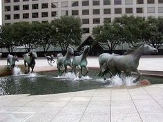 Wild running horse statues. ❣Julianne McPeters❣ no pin limits
