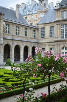 Musee Carnavelet in the Marais area ~ is dedicated to the history of Paris.
