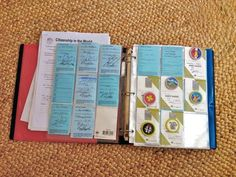 Scout binder — Nest & Launch.  Use full size sheet protectors for certificates and baseball card protectors for the individual badges.
