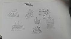 Eten > Taart (schetsen)