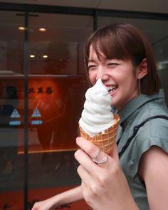 Images O, Happy People, Ice Cream, Happiness, Desserts, Beautiful, Food, No Churn Ice Cream, Tailgate Desserts