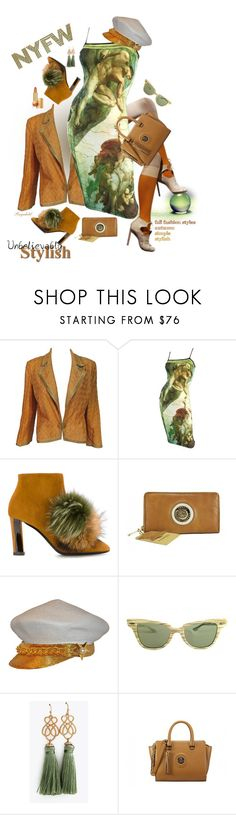 """What to Wear on NYFW"" by ragnh-mjos ❤ liked on Polyvore featuring Missoni, ADAM, Pollini, Ray-Ban and Estée Lauder"