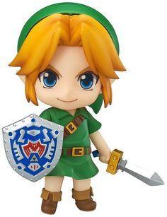 The Legend of Zelda Link Majora's Mask Nendoroid Action Figure