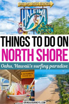 Explore the best things to do on Oahu's North Shore in Hawaii, including top beaches, hiking trails, places to eat, snorkeling spots, and more! | north shore oahu activities | north shore places to visit | north shore of hawaii