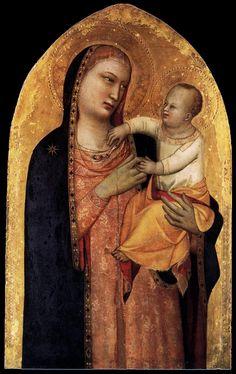 Banco, Maso di - Madonna and Child - Medieval & Gothic Art - New Testament c. 1335