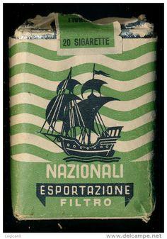 Nazionali esportazioni sigarette