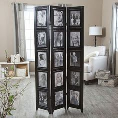 Room dividers work wonderfully in small spaces if you want to turn a single room into a multi-functional space. It is also a great solution for renters sin