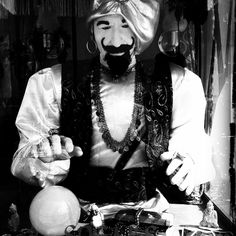Old School fortune teller.