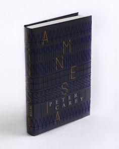 Amnesia (with jacket) design by Alex Kirby
