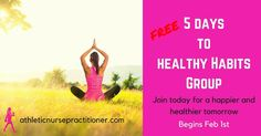 I'd love to invite you all to a fun group, Happy Habits! Its a new spin on the free groups I typically do inspired by Gretchen Rubin's new book, Better Than Before (she was generous enough to share her guide with me). Cool, huh?  The group will be led by me, a certified 21 Day Sugar Detox coach and Family Nurse Practitioner. We will be accountable to each other as we strengthen our healthy habits. I'll also include a link to my free meal plan and optional workouts PLUS some fun door prizes…