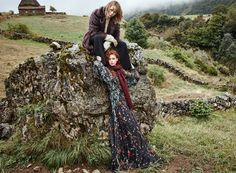 NatalieWestling and Edie Campbell Teamed Up for MANGO The Great Outdoors November 2016 Campaign #MANGOTheGreatOutdoors #Mango #AW16 LOOK___00002