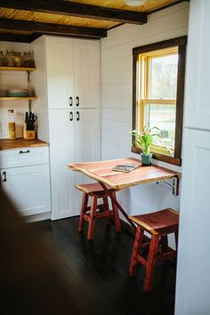 5 Brilliant Ways to Create Dining Space in the Tiniest Kitchen — Small-Space Kitchens