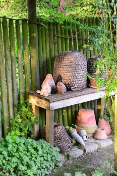 garten diy deko ideen on pinterest potting benches wind chimes and concrete leaves. Black Bedroom Furniture Sets. Home Design Ideas