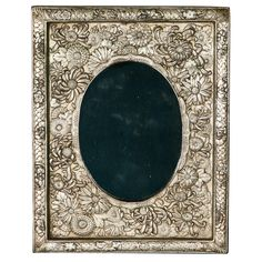 1930s Japanise Repousse silver frame