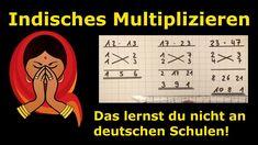 Indisches Multiplizieren - so einfach - so cool - Mathematik, einfach erklärt - Lehrerschmidt