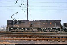 PRR 4453 Pennsylvania Railroad E-44 at Jersey City, New Jersey by miningcamper