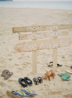 Beach wedding: http://www.stylemepretty.com/vault/search/images/wedding%20signs