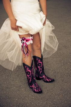 hot pink cowboy boots