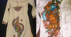 Are you ready for mural-painted sarees?