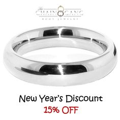 NEW YEAR'S DISCOUNT! Donut Cock Ring - 15% OFF! #cock #ring #surgical #steel #sexual #toys