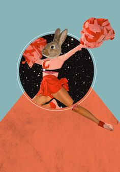 Poster Cheerleader do Studio Carolnazatto por R$45,00