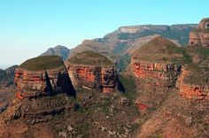 The Three Rondavels Blyde River Canyon South Africa #Africa, #pinsland, https://apps.facebook.com/yangutu
