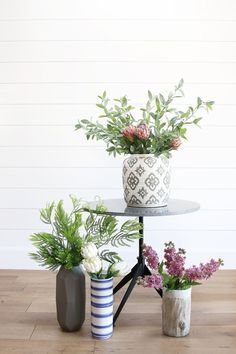 Tips and tricks for styling faux greenery