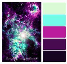 Color Palette Nightt