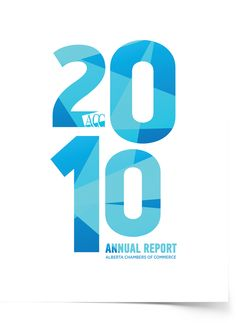Alberta Chamber of Commerce 2010 annual report cover