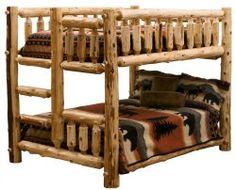 Amish Rustic Log Furniture - Hunting Season Ready