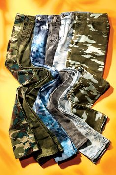 The Hit List: Your Ultimate Fall Fashion Guide (Element, True Religion, Robin's, Hudson, Calvin Klein & Siwy camo jeans)