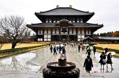 Templo Tōdai-ji en Nara (Japón)