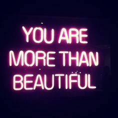 tell yourself this... more importantly BELIEVE it