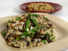 Wild Rice Side Dish Recipe - 1 point per 1/2 cup - to go with Salmon on Wednesday night.