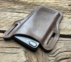 iPhone 8 / 7 / 6 s étui en cuir | Etsy
