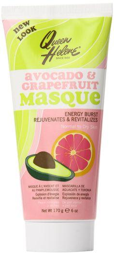 Amazon.com : Queen Helene Facial Masque, Avocado & Grapefruit, 6 Ounce [Packaging May Vary] : Facial Masks : Beauty