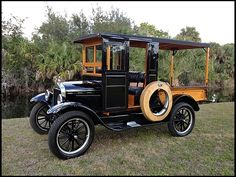 Vintage Car Models 1926 Ford Model T Huckster Antique Trucks, Vintage Trucks, Old Trucks, Antique Cars, Ford 79, Car Ford, Ford Motor Company, Classic Trucks, Classic Cars