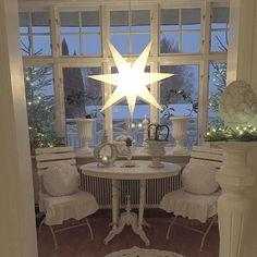 Shabby Chic Home Decor Swedish Christmas, White Christmas, Christmas Items, All Things Christmas, Christmas Inspiration, Beautiful Christmas, Tis The Season, Shabby Chic, Home And Garden