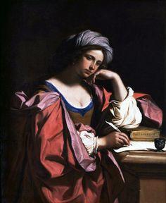 Sibilla Persica, by Guercino (Giovanni Francesco Barbieri)