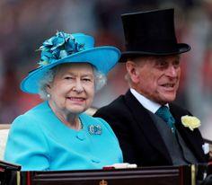 The Queen and The Duke of Edinburgh arrive at Ascot Racecourse for Day Three of Royal Ascot, 19 June 2014. © Press Association