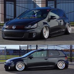 Theses hoes like when you spend money. Not when you only talk about it 💭 Owner: @theycallmemister_h  Wheels: @bbs.wheels  Suspensions: @bagriders  #EuroQlassic  #BBSGang  #FreedomTw  #Mkvi  #Gti