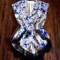 I just added this to my closet on Poshmark: FLORAL ROMPER Printed Intricate Boho Lace Jumpsuit   Boutique.  Size: Various