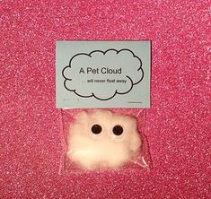 Pet cloud / wedding favors / wedding favours / quirky gifts / children / weird s. Pet cloud / wedding favors / wedding favours / quirky gifts / children / weird stuff / unusual gifts Source by rileymeerman Joke Gifts, Bff Gifts, Kids Gifts, Funny Gifts For Friends, Prank Gifts, Funny Xmas Gifts, Funny Presents, Childrens Gifts, Friends Mom