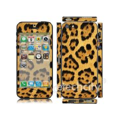 Animal Pattern Skin Cover Screen Protector for Apple iPhone 5 (Style 3) [CCSK-PHVPL19] - $12.00 : Leopard 2