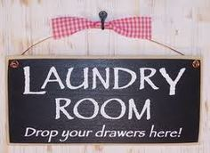 primitive laundry room signs - Google Search