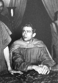 James Dean. After appearing as the disciple John in an hour-long television program for Easter, students at Immaculate Heart High, a Catholic school for girls, created a James Dean Appreciation Society and invited the then 20-year-old actor to their inaugural meeting. Dean showed up and signed autographs.