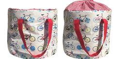 Saco para guardar brinquedos, que pode ser usado como sacola para facilitar o transporte, da Atelier Jean Et Marie. R$ 180. O produto é uma das novidades da feira Baby Bum (www.babybum.com.br), que acontece de 13 a 16 de maio de 2015, em São Paulo