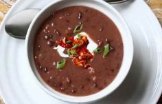 Quick and Easy Black Bean Soup