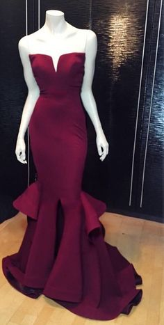 New Arrival Sexy Prom Dress Satin Mermaid Evening Dress Prom Dress Party Dress
